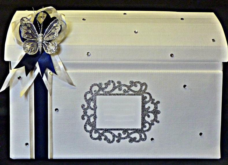 Treasure Chest Wedding Card Box 16 x 95 x 105 – Wedding Treasure Chest Card Box