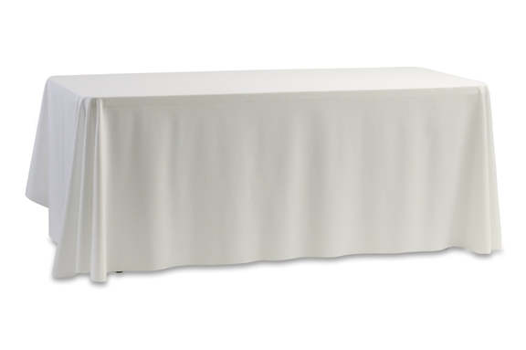 56 Quot X 110 Quot White Table Cover Rectangle Table