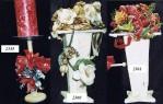 Handmade Wooded Candle Holder & Papier Mache Handmade Vase Decor