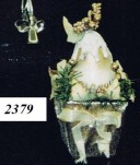 Pear In Vase Ornament (Min. 12)