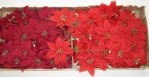 Assorted Poinsettia Pick (Box Of 72/pcs @ $0.45/each)