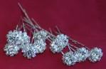 4822 - Diamond Flower Hair Pin (12 Pcs/box)