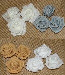 "8112 - 1.75"" Foam Roses X 12pcs Per Pack"