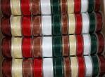 B9854 - Fancy Organza Ribbon - Box Of 120 Spools@ $0.79/sp