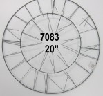"7083 - 20"" Round Wire Wreath Form"