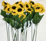 "H323a Large 36"" Sunflower (72/pcs Per Box @ $0.55/stem)"