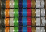 "B35 - 1.5"" X 2yds Asst. Organza Ribbon (Box Of 100 @ $0.79/sp.)"