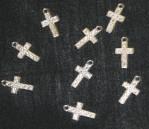 16mm X 18mm Metal Crucifix (Pack Of 100)