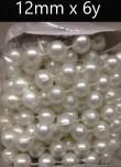 12mm X 6yds Pearls