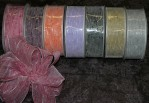 "R1086 - 1.5"" X 25yds Tuffed Cotton Ribbon"