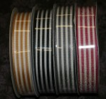 "R5189/5 - 7/8"" X 25yds Striped Ribbon"
