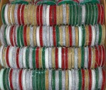 R2 - Christmas Coloured Beads - Box Of 144 Spools @ $0.75/sp.