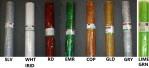 """R6768 - 21"""" X 10yds Metallic Laser Foil Mesh"""
