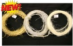 Natural Sisal Wire Rope X 10m