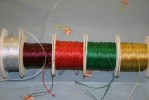 Craft Thread Cord 100yds (90% Metallic + 10% Nylon)