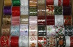 XMAS 2102 - Assorted Christmas Ribbons - 10yds Per Spool (72 Rolls Per Box - $4.25/roll)