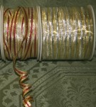 "3/8"" X 100 Yds Wired Two-Tone Ribbon"