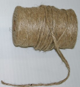 5945 - 2mm x 100yds Burlap Rope