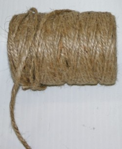 5946 - 4mm x 60yds Burlap Rope