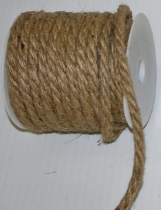 5947 - 6mm x 12yds Burlap Rope