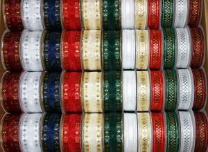 B9856 - Fancy Organza Ribbon - Box of 120 Spools @$.79/sp