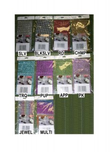 Rhinestone Sheet 120mm x 240mm (Asst. of 96/cards @ $0.75/each)