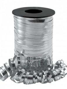 Silver Metallic Curling Ribbon x 250 yds (5 Rolls per pack)