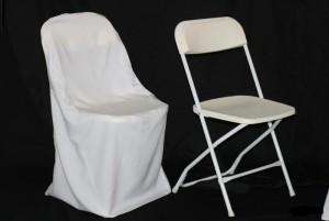 4018 - Poly Folding Chair Cover